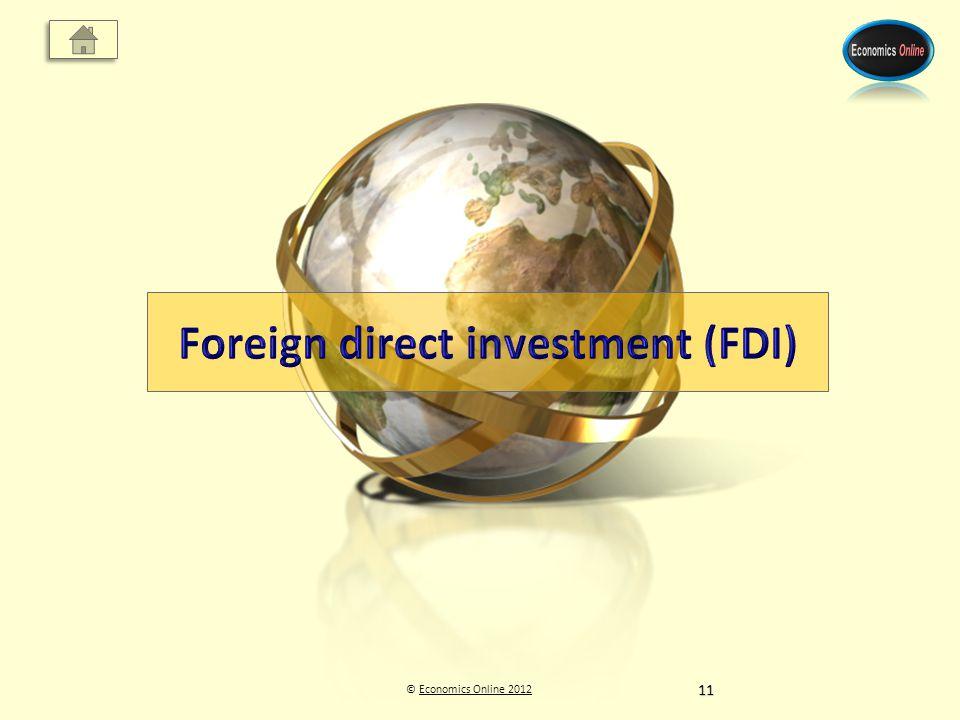 © Economics Online 2012Economics Online 201211