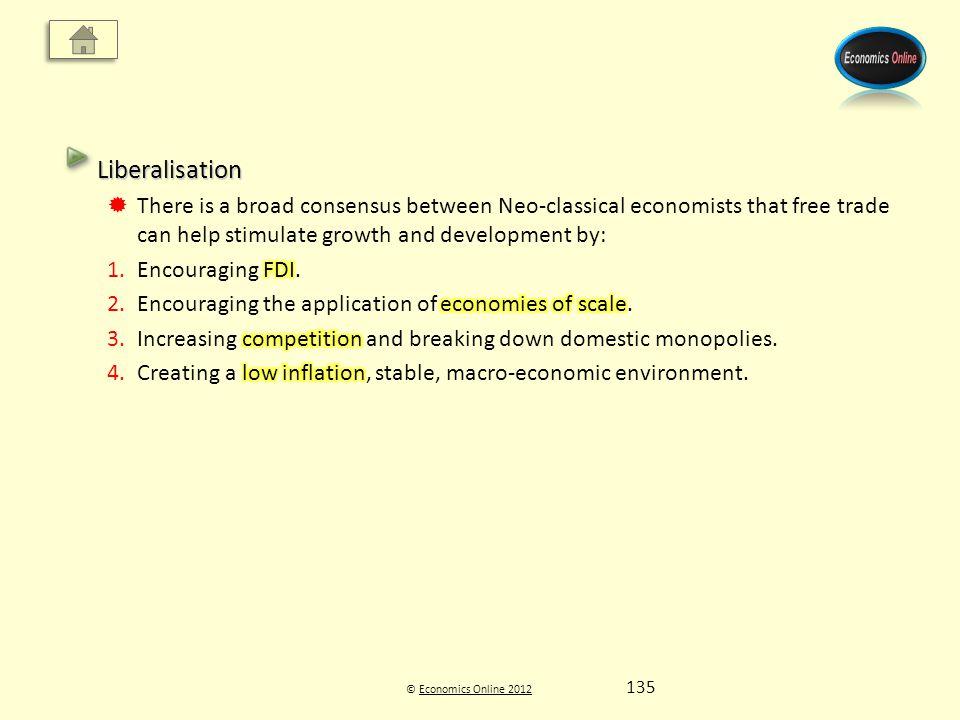 © Economics Online 2012Economics Online 2012 135