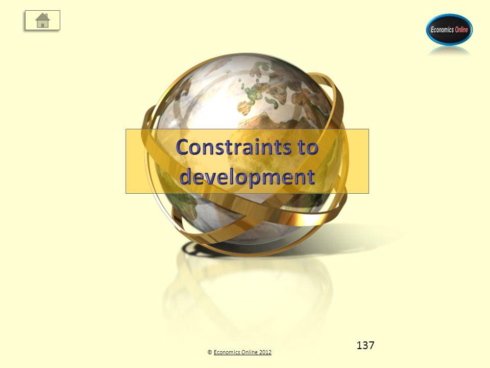 © Economics Online 2012Economics Online 2012 137