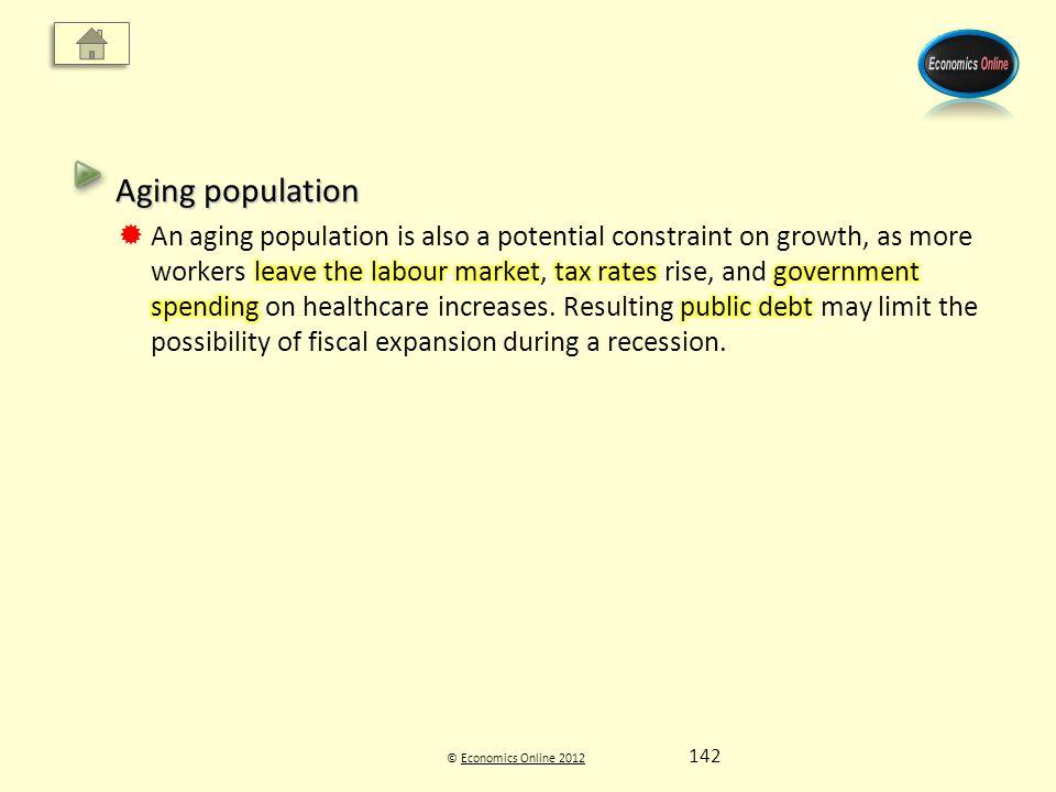 © Economics Online 2012Economics Online 2012 142