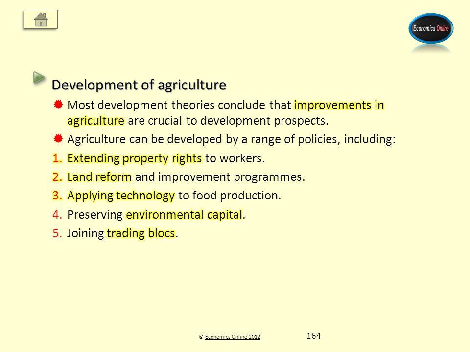 © Economics Online 2012Economics Online 2012 164