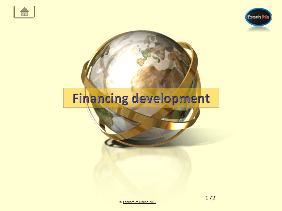 © Economics Online 2012Economics Online 2012 172