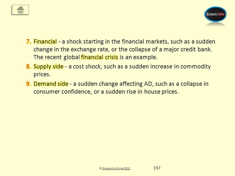 © Economics Online 2012Economics Online 2012 197