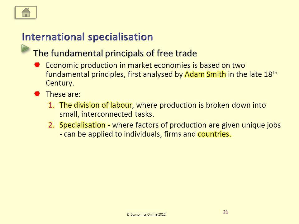© Economics Online 2012Economics Online 2012 21
