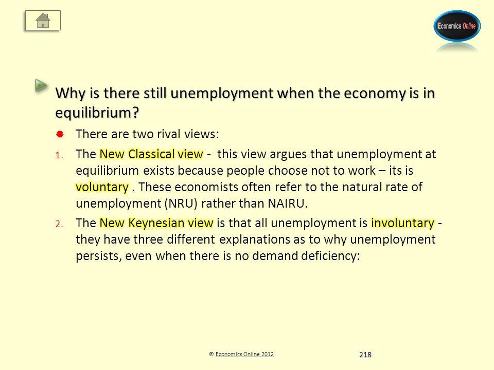 © Economics Online 2012Economics Online 2012 218