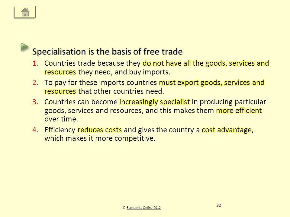 © Economics Online 2012Economics Online 2012 22