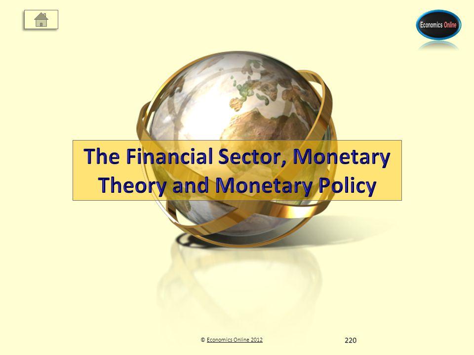© Economics Online 2012Economics Online 2012220