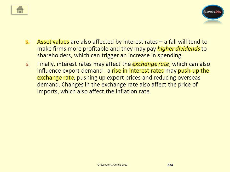 © Economics Online 2012Economics Online 2012 234