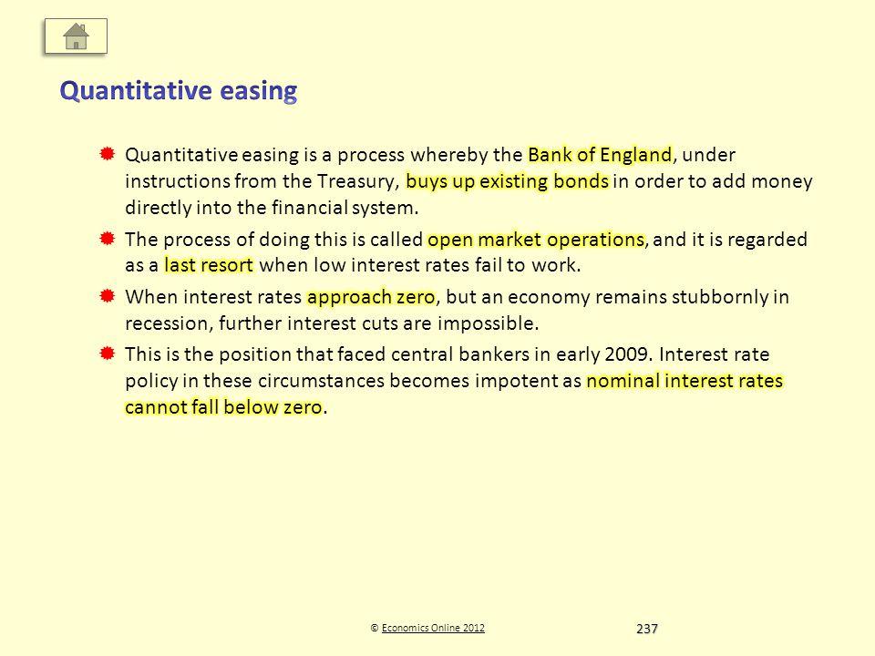 © Economics Online 2012Economics Online 2012 237