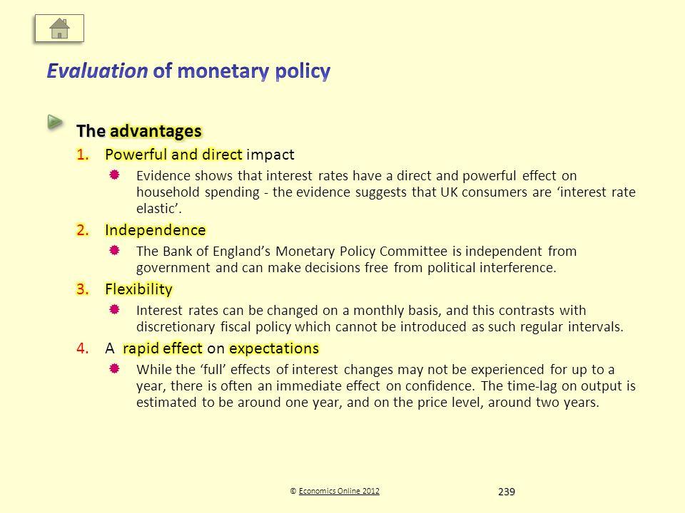 © Economics Online 2012Economics Online 2012 239