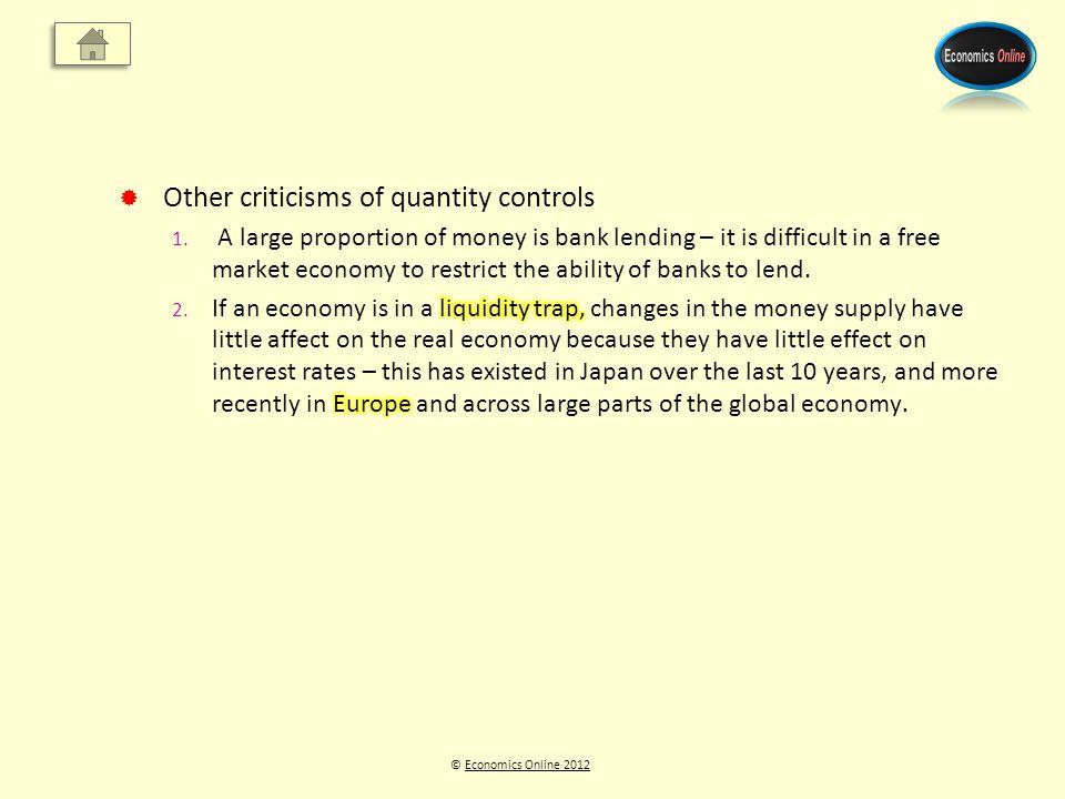 © Economics Online 2012Economics Online 2012