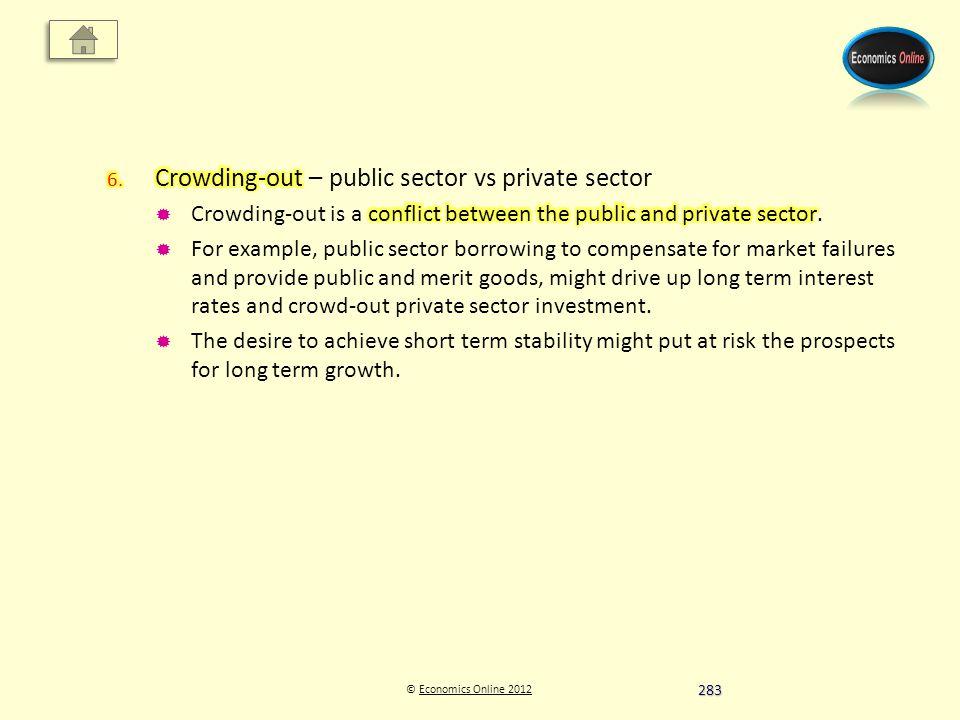 © Economics Online 2012Economics Online 2012 283