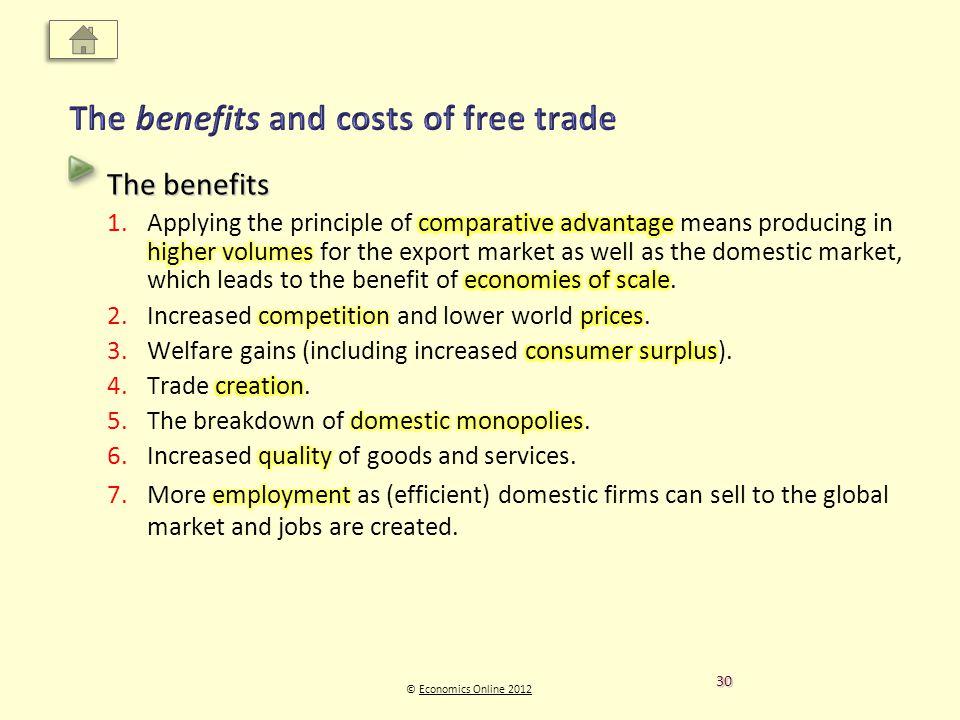 © Economics Online 2012Economics Online 2012 30