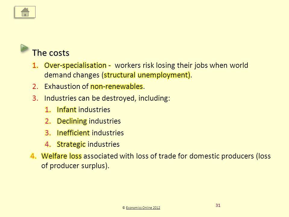 © Economics Online 2012Economics Online 2012 31