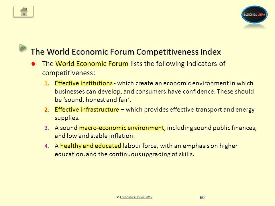© Economics Online 2012Economics Online 2012 60