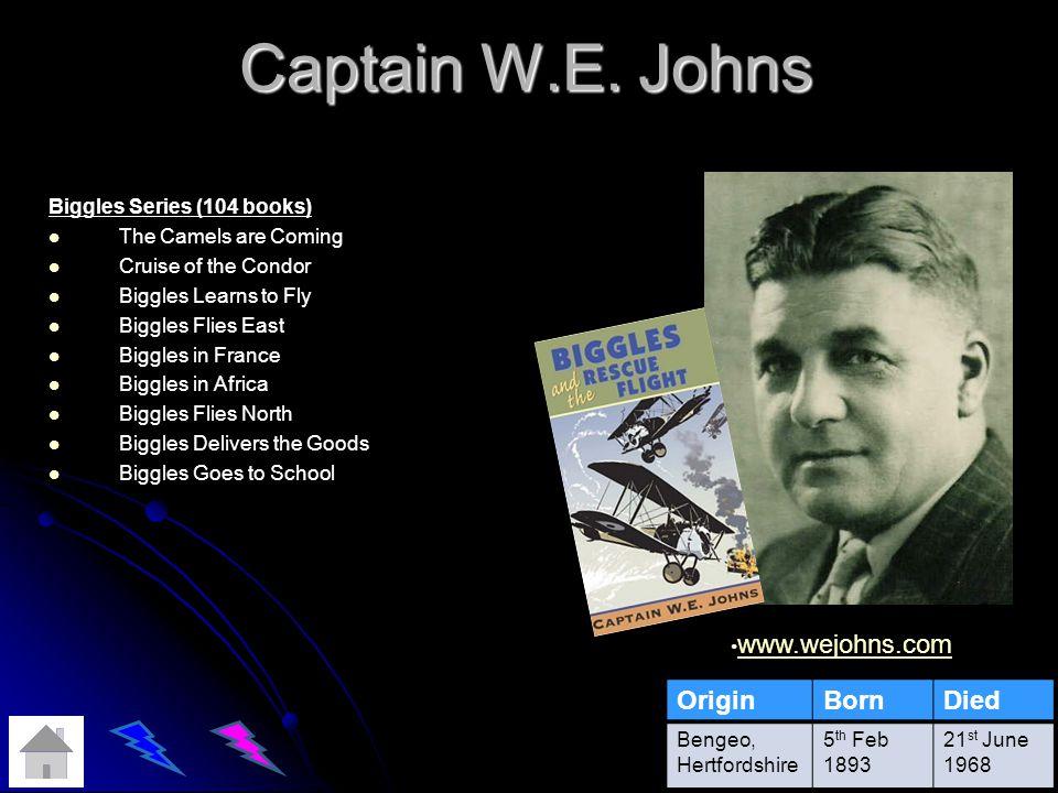 Captain W.E.