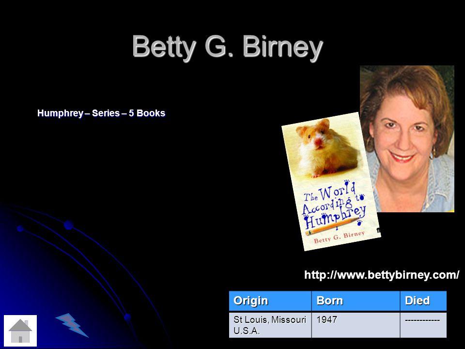 Betty G.