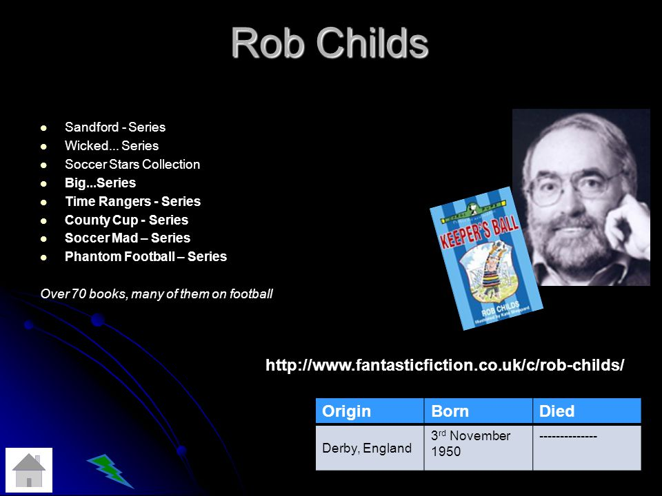 Rob Childs Sandford - Series Wicked...