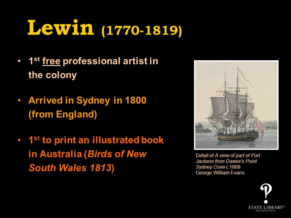 Lewins powerful formula of careful observation and dynamic composition – which evolved during his life in New South Wales – was his singular achievement.