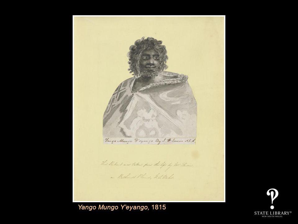 Yango Mungo Yeyango, 1815