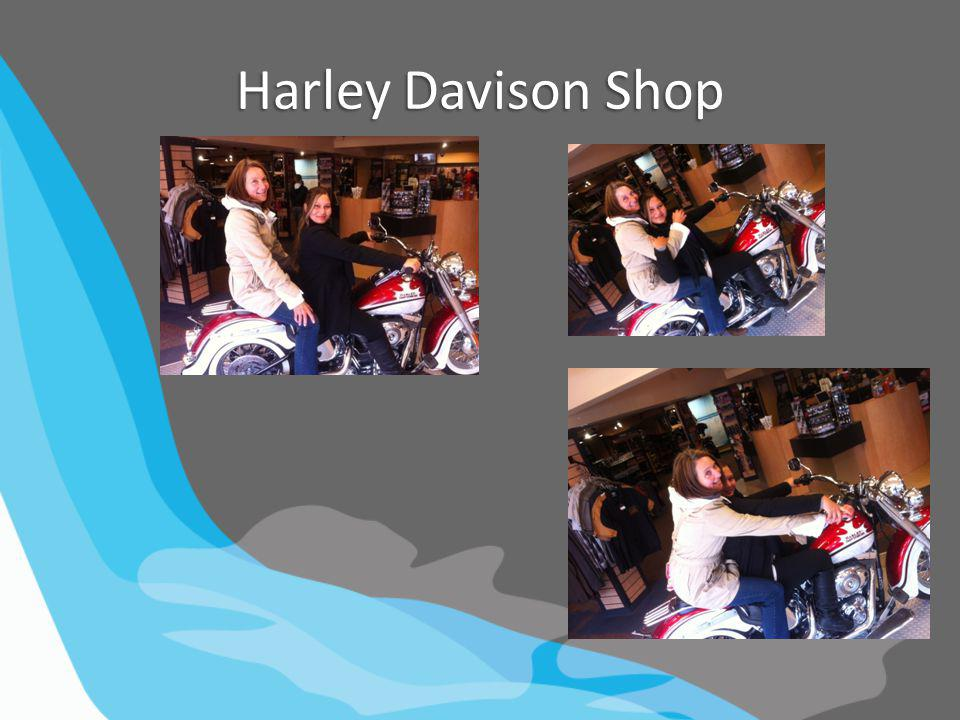 Harley Davison Shop