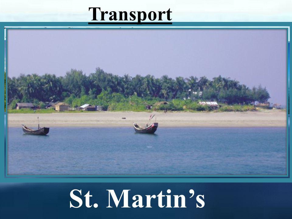 Teknaf to St. Martins Teknaf By boat By Ship St. Martins Transport