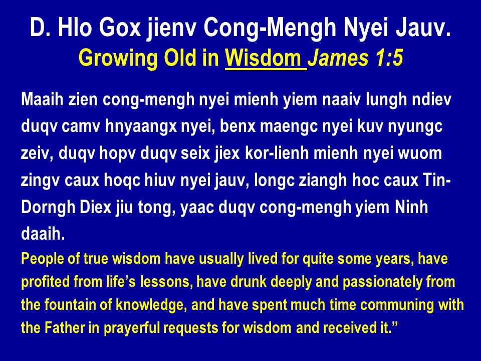 D. Hlo Gox jienv Cong-Mengh Nyei Jauv.