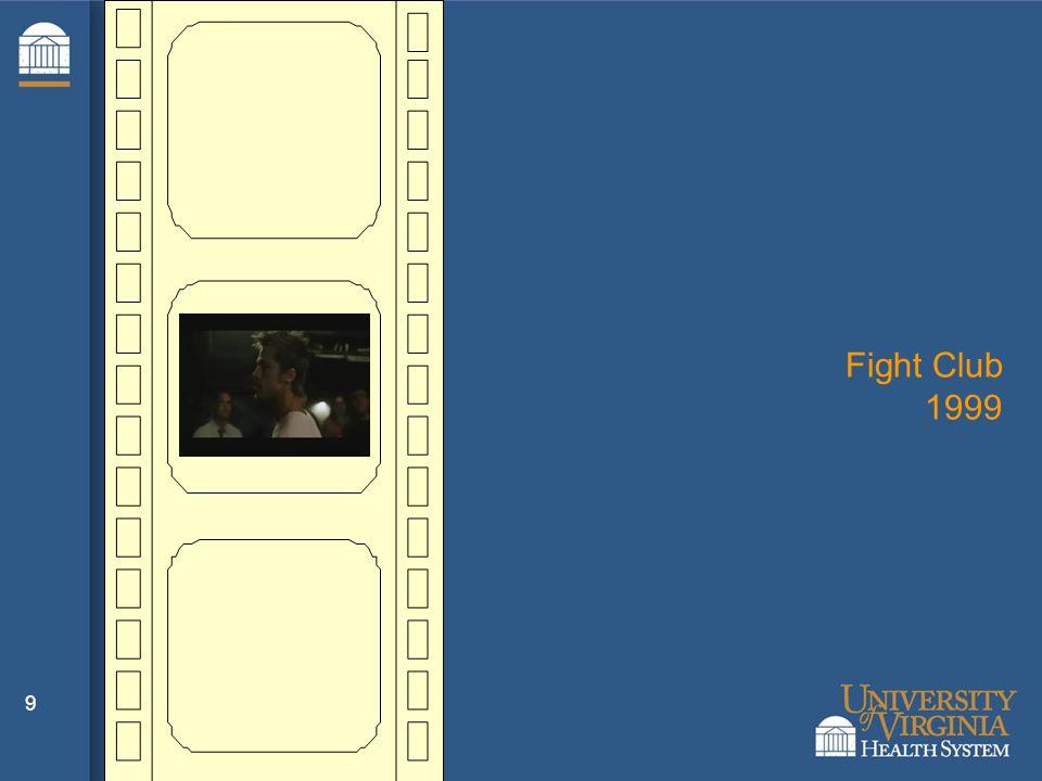 9 Fight Club 1999