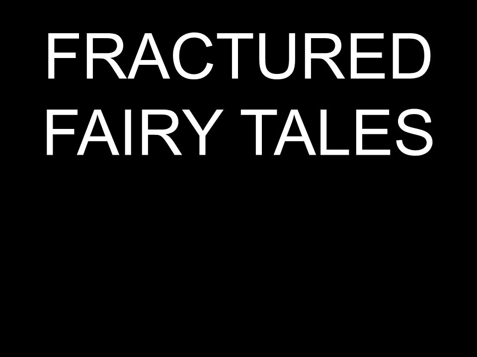 Using your randomly selected fairy tale combined with your randomly selected genre… Create an image that accurately reflects both.