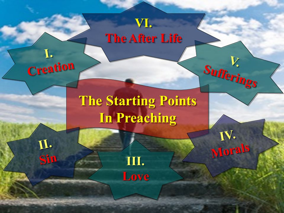 The Starting Points In Preaching The Starting Points In Preaching II.SinII.Sin I.