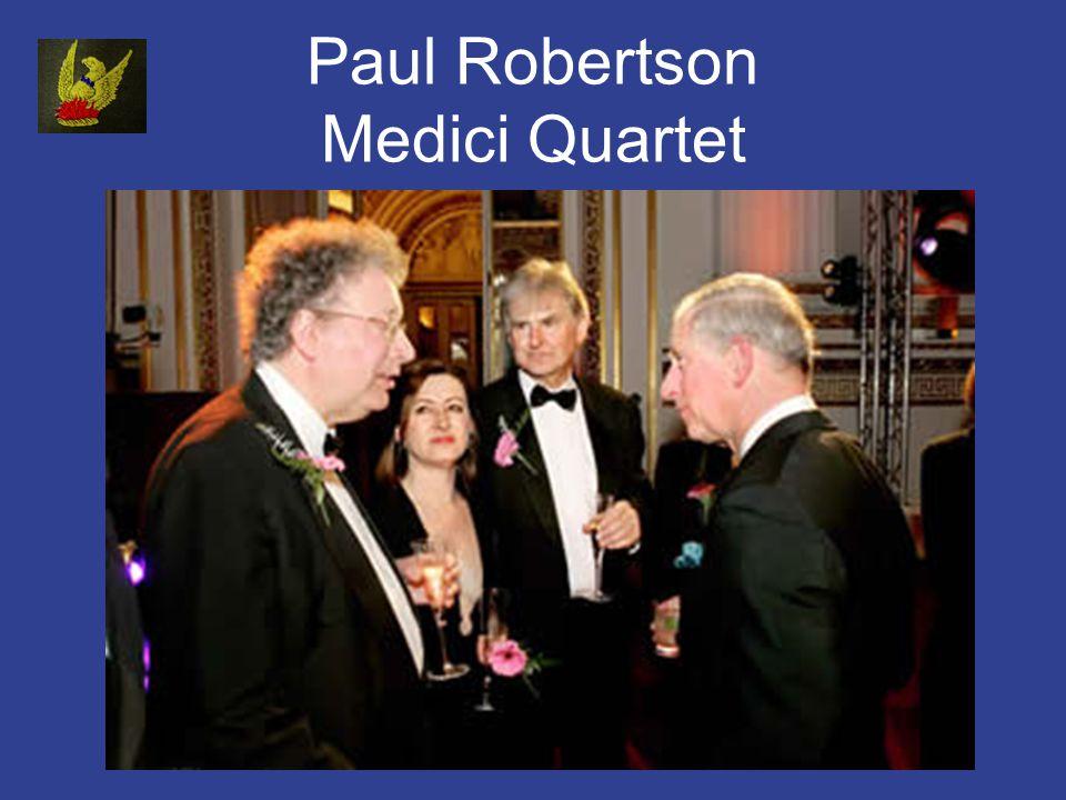 Paul Robertson Medici Quartet