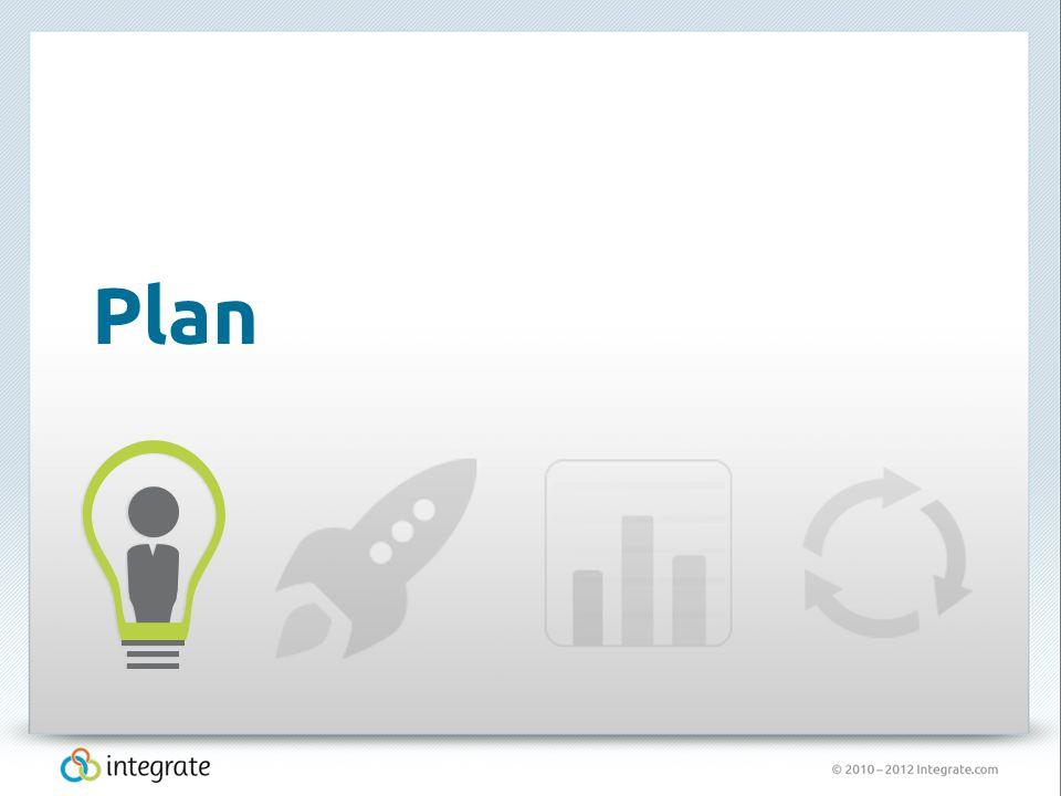 © 2010 – 2012 Integrate.com 8 Plan