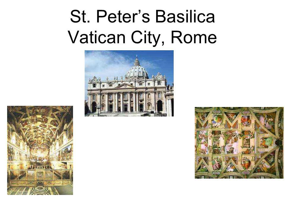 St. Peters Basilica Vatican City, Rome