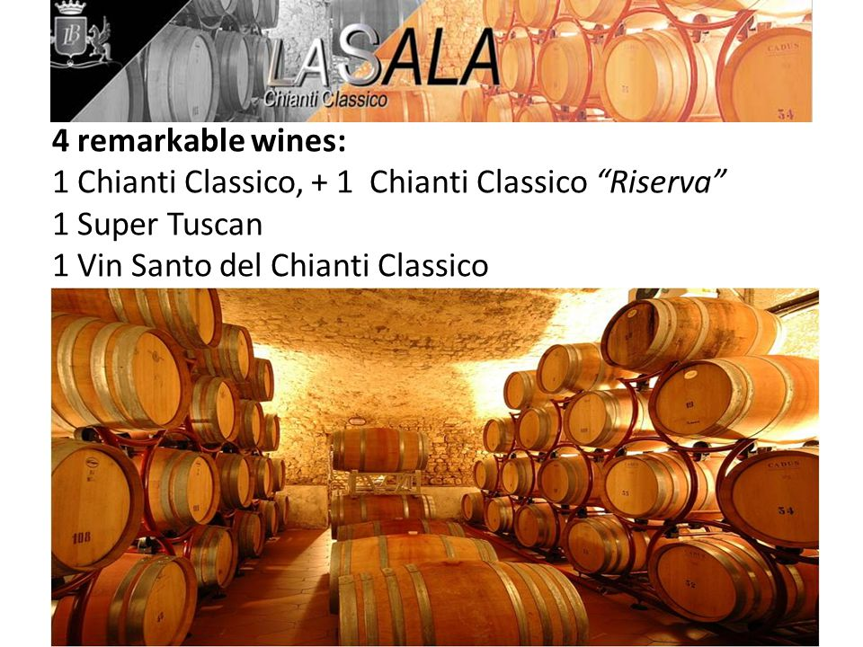 Wine Variety: 100% Sangiovese Area Grown: San Casciano Val di Pesa (Classico Area) 150mt.asl Harvest Method: By Hand with careful selection of the best grapes Maturation and Fining: 6 Months in barriques of French & American Oak, then 6 months in stainless steel tank Color: Ruby Red Nose: Elegant, complex with fruity notes Palate: Supple & well Balanced Serving Suggestions: 19C, good with red and white meats, pork, poultry and mature cheeses