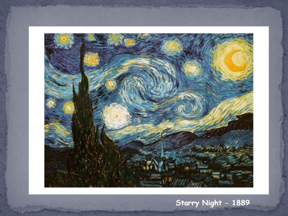 Starry Night - 1889