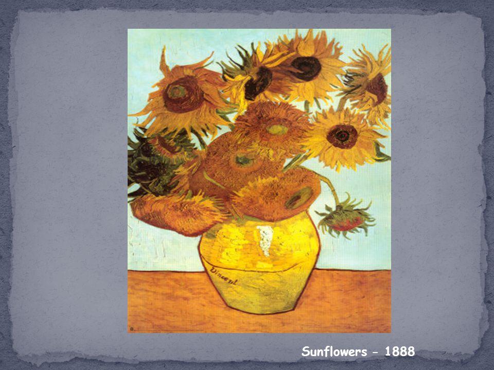 Sunflowers - 1888