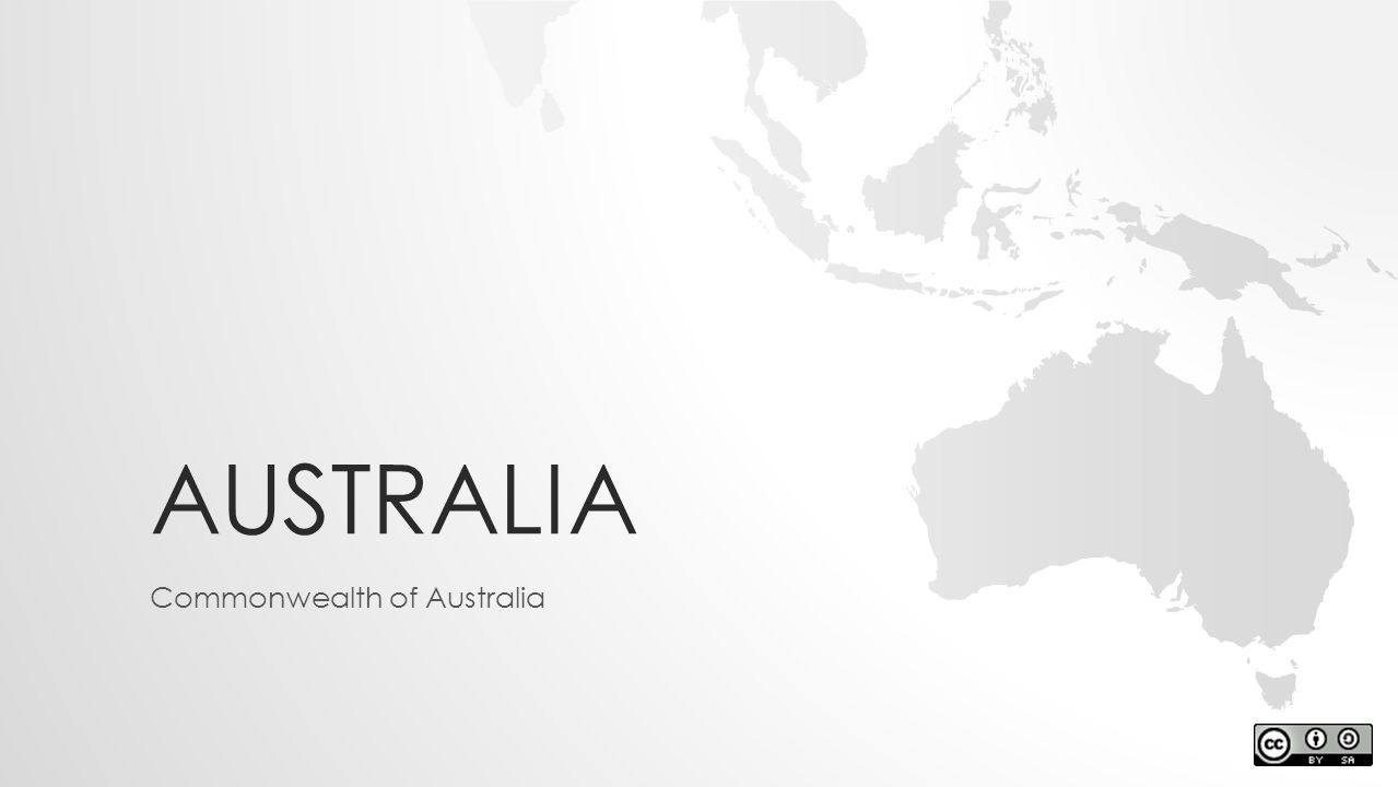 AUSTRALIA Commonwealth of Australia