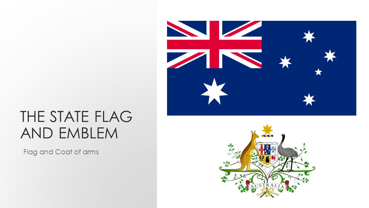 THE STATE FLAG AND EMBLEM Flag and Coat of arms