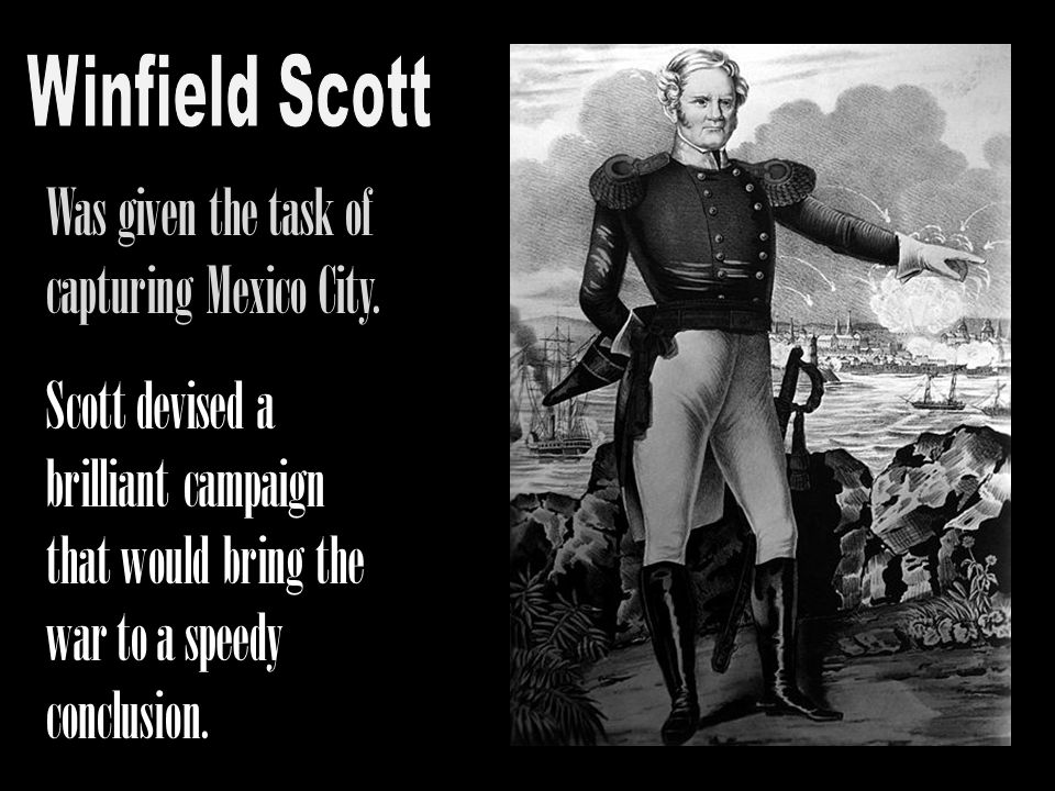 Scott devised a brilliant campaign that would bring the war to a speedy conclusion.