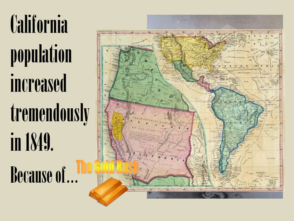 California population increased tremendously in 1849. Because of…