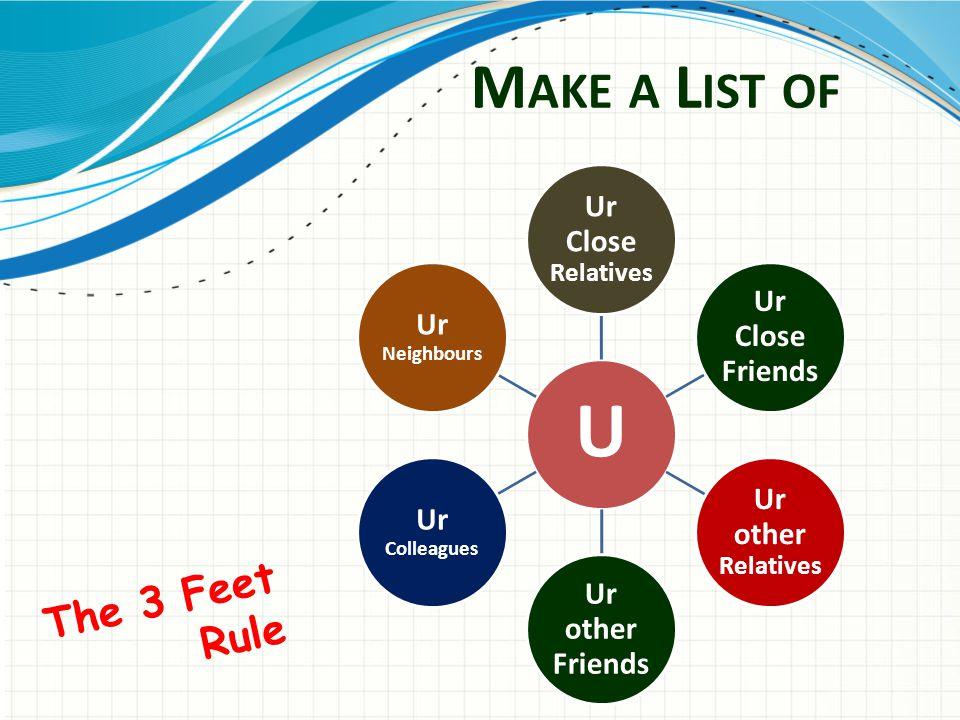 The 3 Feet Rule