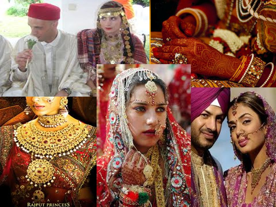 Havan or the auspicious fire is lit in North Indian weddings.