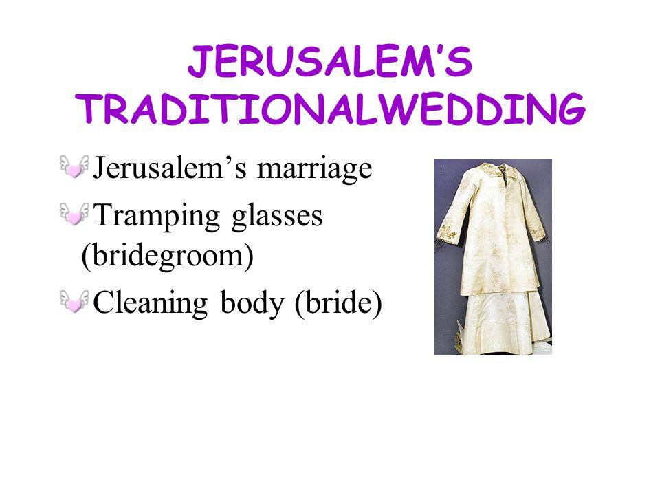 JERUSALEMS WEDDING