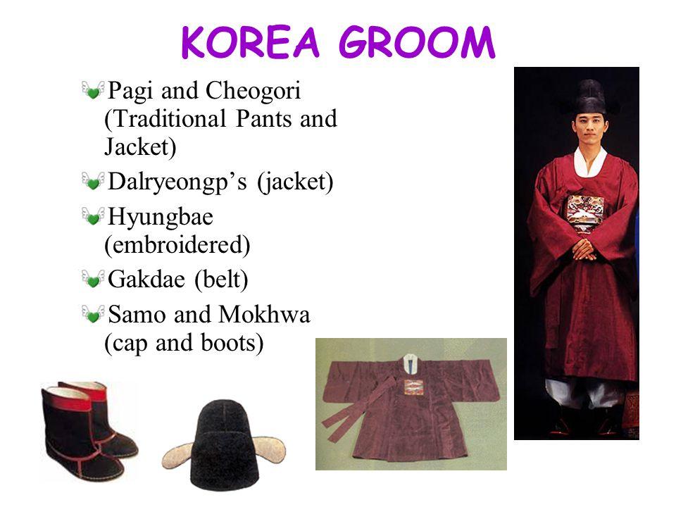 KOREA BRIDE Wonsam(clothes) Daedae(belt) Jokduri(ceremonial coronet)