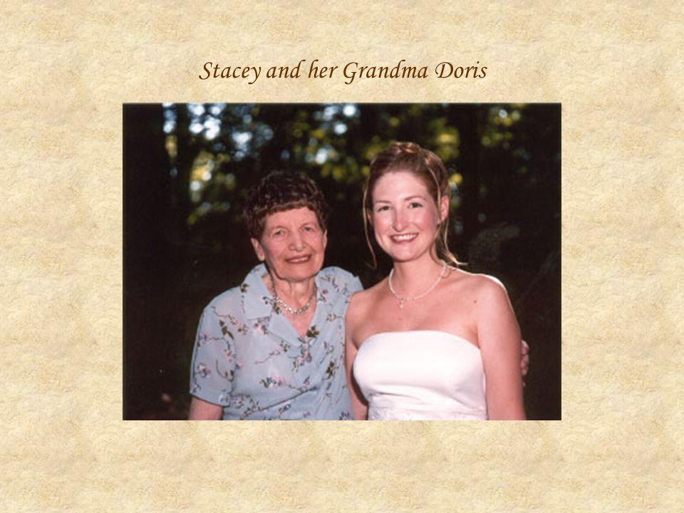 Stacey and her Grandma Doris