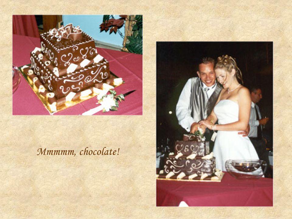 Mmmmm, chocolate!