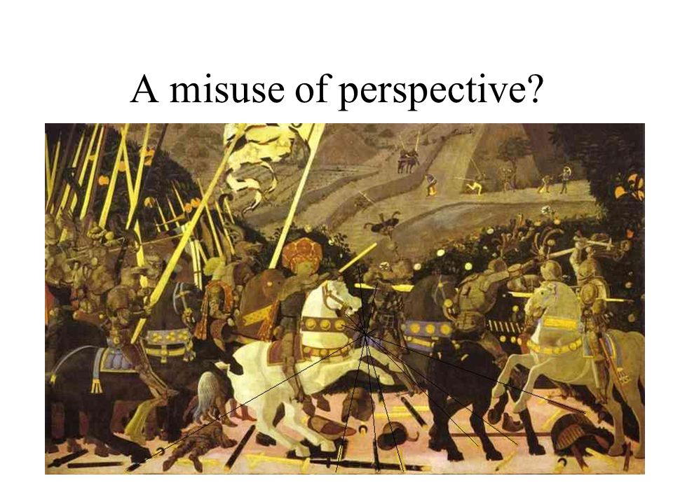 A misuse of perspective