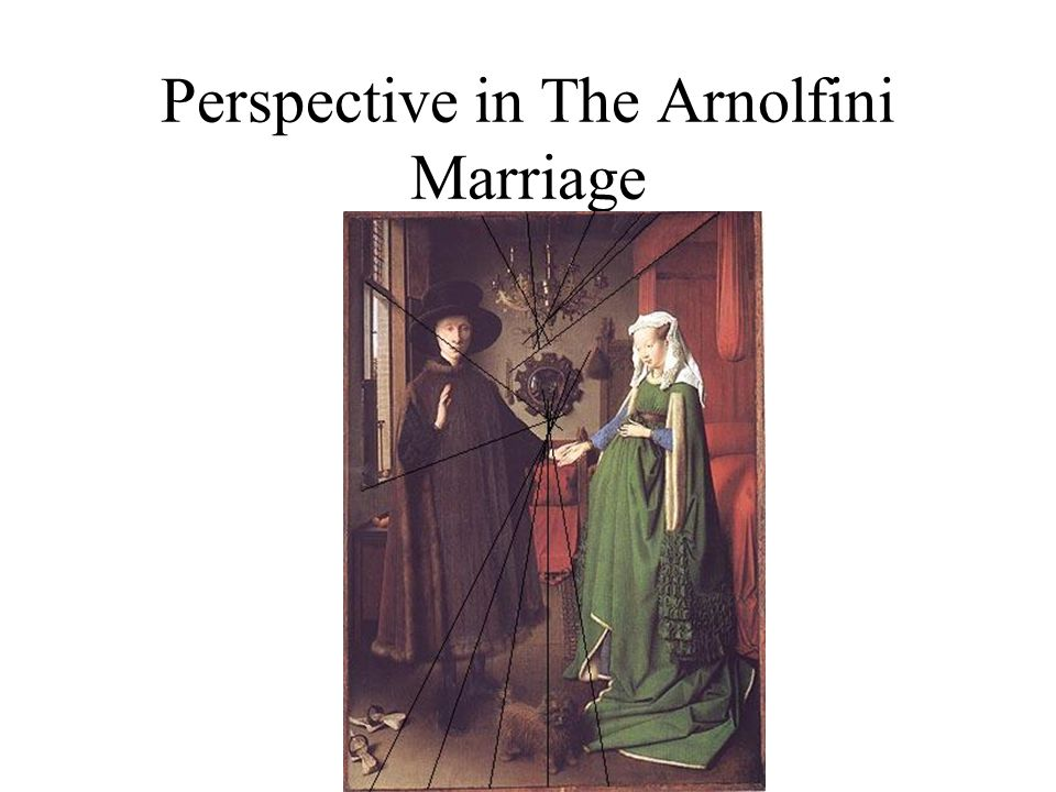 Perspective in The Arnolfini Marriage