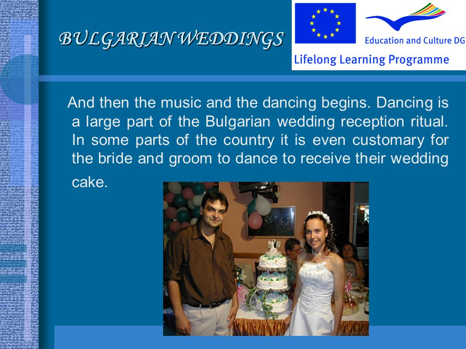 BULGARIAN WEDDINGS And then the music and the dancing begins.
