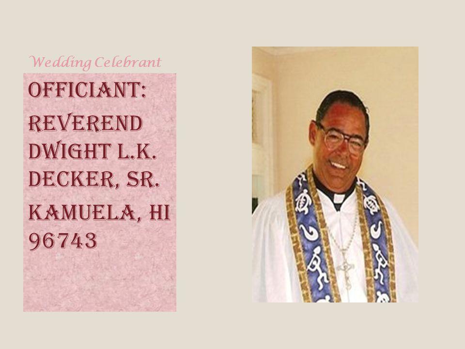 Wedding Ceremony Location: Lanikai Beach Oahu Hawaii Mokulua Drive, Kailua, Oahu, HI 96734